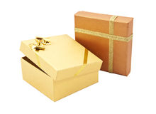 boxes gåva två Royaltyfri Foto