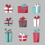 boxes gåvan Royaltyfri Fotografi