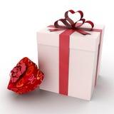 boxes gåvan Royaltyfri Bild
