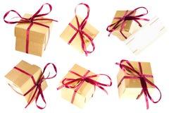 boxes gåvan Arkivfoto