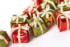 boxes gåvan little Arkivbild