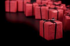boxes gåvared Arkivbilder