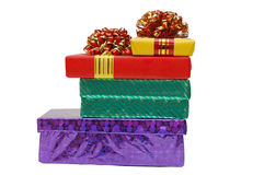 boxes gåvor Royaltyfri Fotografi