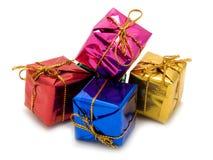 boxes gåvor royaltyfria foton