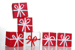 boxes gift Στοκ φωτογραφία με δικαίωμα ελεύθερης χρήσης