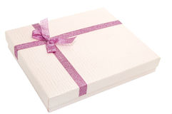 Boxes for gifts Royalty Free Stock Photography