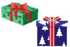 boxes julgåvan Royaltyfria Bilder