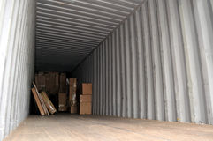 boxes lastbehållaren Royaltyfria Foton