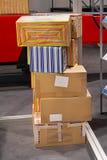 boxes leverans Royaltyfri Fotografi