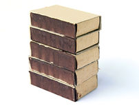 Boxes match Stock Photography