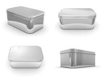 boxes metalliskt Royaltyfri Bild