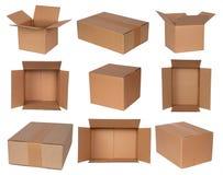boxes papp Fotografering för Bildbyråer