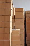 Boxes piles Stock Photos