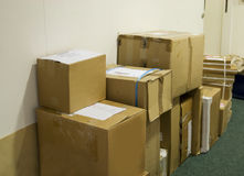 Boxes Royalty Free Stock Photography