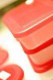 boxes plastic lagring Royaltyfri Bild