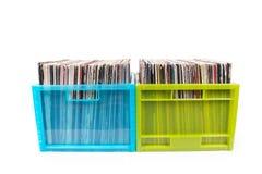 boxes plastic sällan register två fotografering för bildbyråer