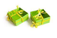Boxes for presents Royalty Free Stock Photo