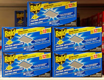Boxes of Raid Anti-Mosquito Tablets Royalty Free Stock Image