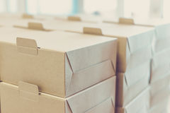Boxes ready for delivery Royalty Free Stock Photography