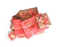 boxes red Royaltyfria Foton