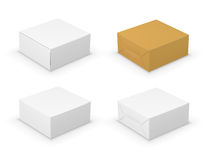 Boxes set Stock Photos
