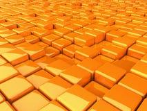 BoxesOrange Royalty Free Stock Image