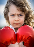 Boxeur Images libres de droits
