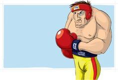 Boxeur Photo stock