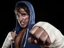 Boxeur - chasseur de rue Photos stock