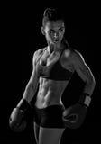 Boxeur de femme Photo libre de droits