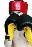 Boxeur de garçon Photo libre de droits