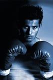 Boxeur de sépia photographie stock libre de droits