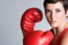 Boxeur féminin photo libre de droits