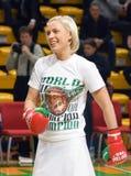 Boxeur Natascha Ragosina photo stock