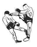 Boxeurs Photo libre de droits