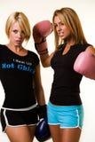 Boxeurs de femmes Photographie stock