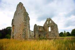 Boxgrove小修道院废墟  图库摄影