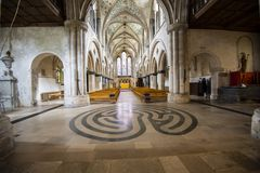 Boxgrove-Kloster, Chichester, West-Sussex, England stockfoto
