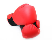 Boxhandschuhe lizenzfreie stockfotos