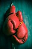 Boxhandschuhe Lizenzfreie Stockfotografie