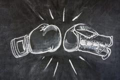 Boxhandschuhe Lizenzfreies Stockbild
