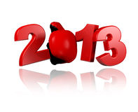 Boxing 2013 design Stock Image