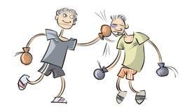 boxing illustrazione vettoriale