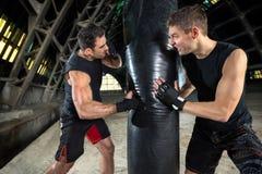 boxing royalty-vrije stock foto's