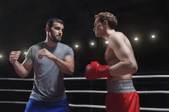 boxing royalty-vrije stock afbeelding