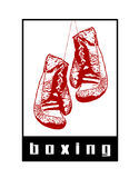 Boxing Abstract Stock Image