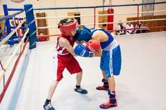 Boxing among adolescents Royalty Free Stock Photos