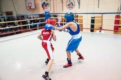Boxing among adolescents Royalty Free Stock Photo