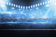 Boxing arena Royalty Free Stock Photos