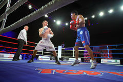 Boxing: A. Avtorkhanov vs N.Ubaali Stock Photography